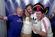 David Beckham x adidas Take The Stage Photobooth