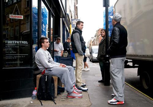 new product 0de4c 93d32 ... Foot Patrol x adidas Campus 80s B-Sides Release