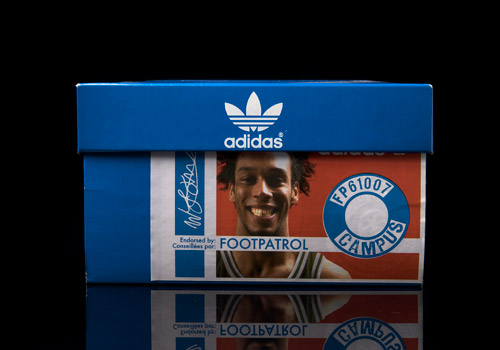new product 62115 9848d Foot Patrol x adidas Campus 80s Pack