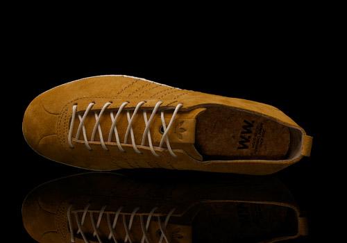 wood wood x adidas gazelle vintage