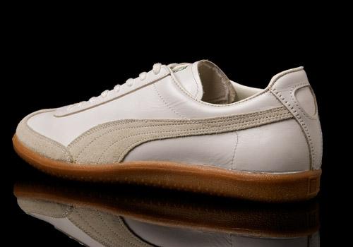 All White Puma Shoes