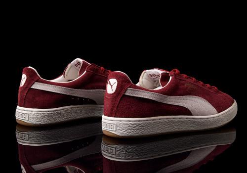 puma clyde suede sneakers