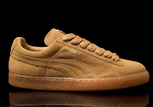 sports shoes a821d 01b96 puma suede brown